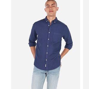 Men's Express casual button down dress shirt